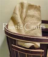 Rustic Crafts & Chic : Simple Crafts & Decorating Ideas Using Burlap   ...  rustic-crafts.com