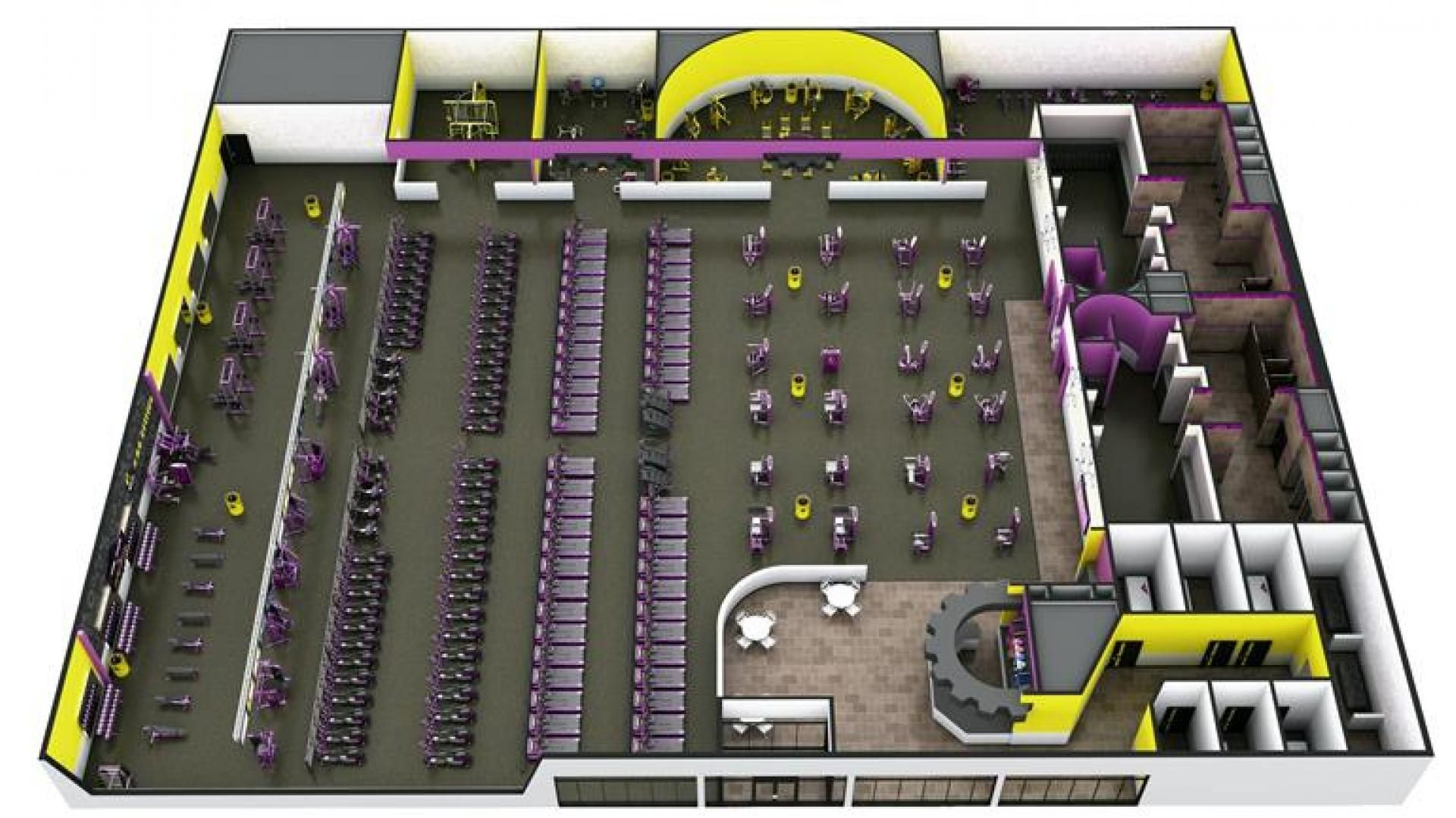 Planet Fitness Gym Layout Sport1stfuture Org