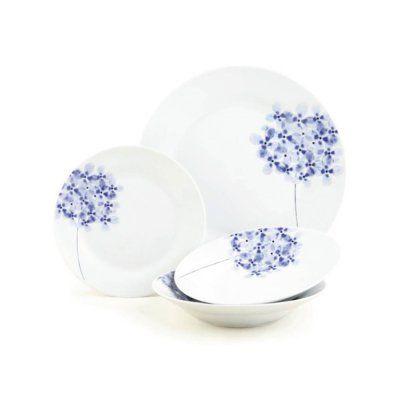 Hydrangea · 12pc Hydrangea Dinnerware Set  sc 1 st  Pinterest & 12pc Hydrangea Dinnerware Set | Tableware | Pinterest | Tableware ...