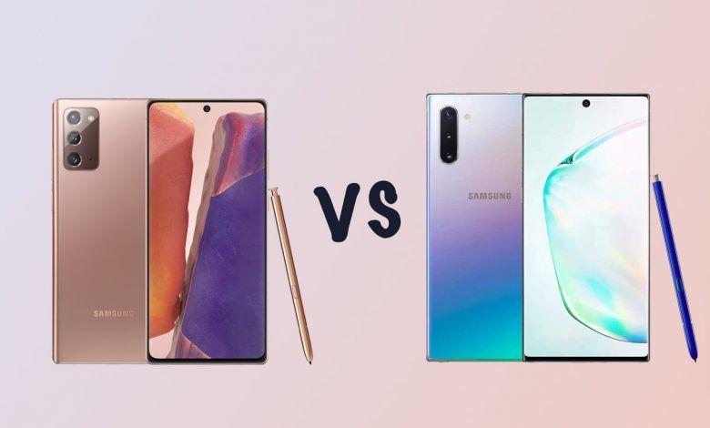 انفوجرافيك لمقارنة هاتف Galaxy Note20 Ultra ضد Galaxy Note10 Plus Samsung Galaxy Samsung Galaxy Note Galaxy Note 10