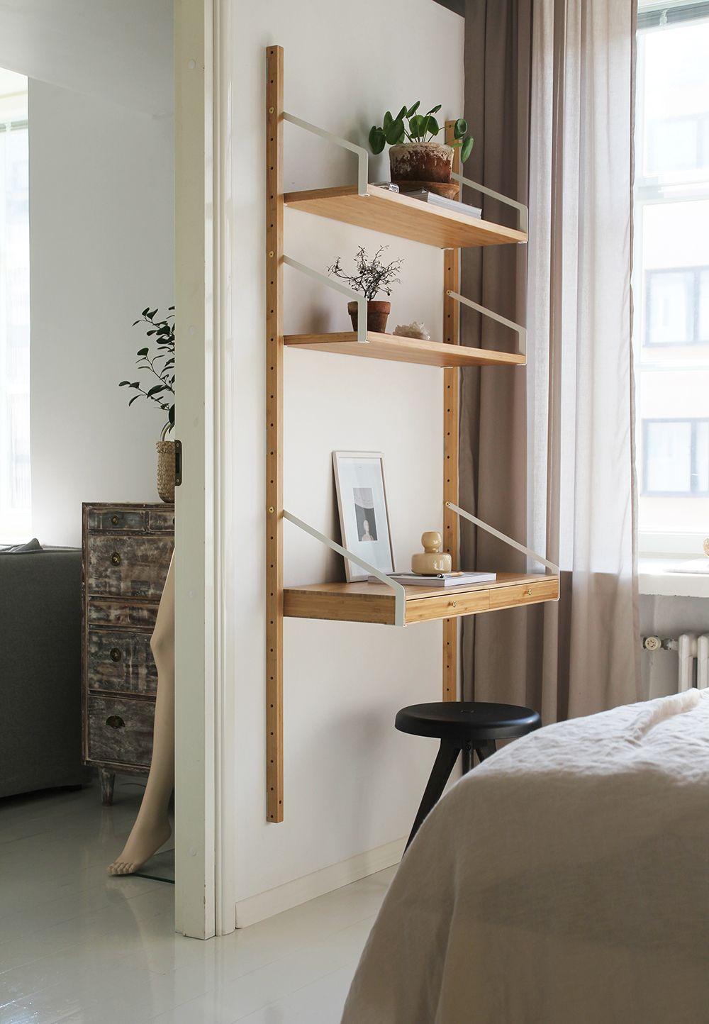 Working Spot Raw Design Blog Decor Pinterest Bedrooms  # Kallax Separateur Piece