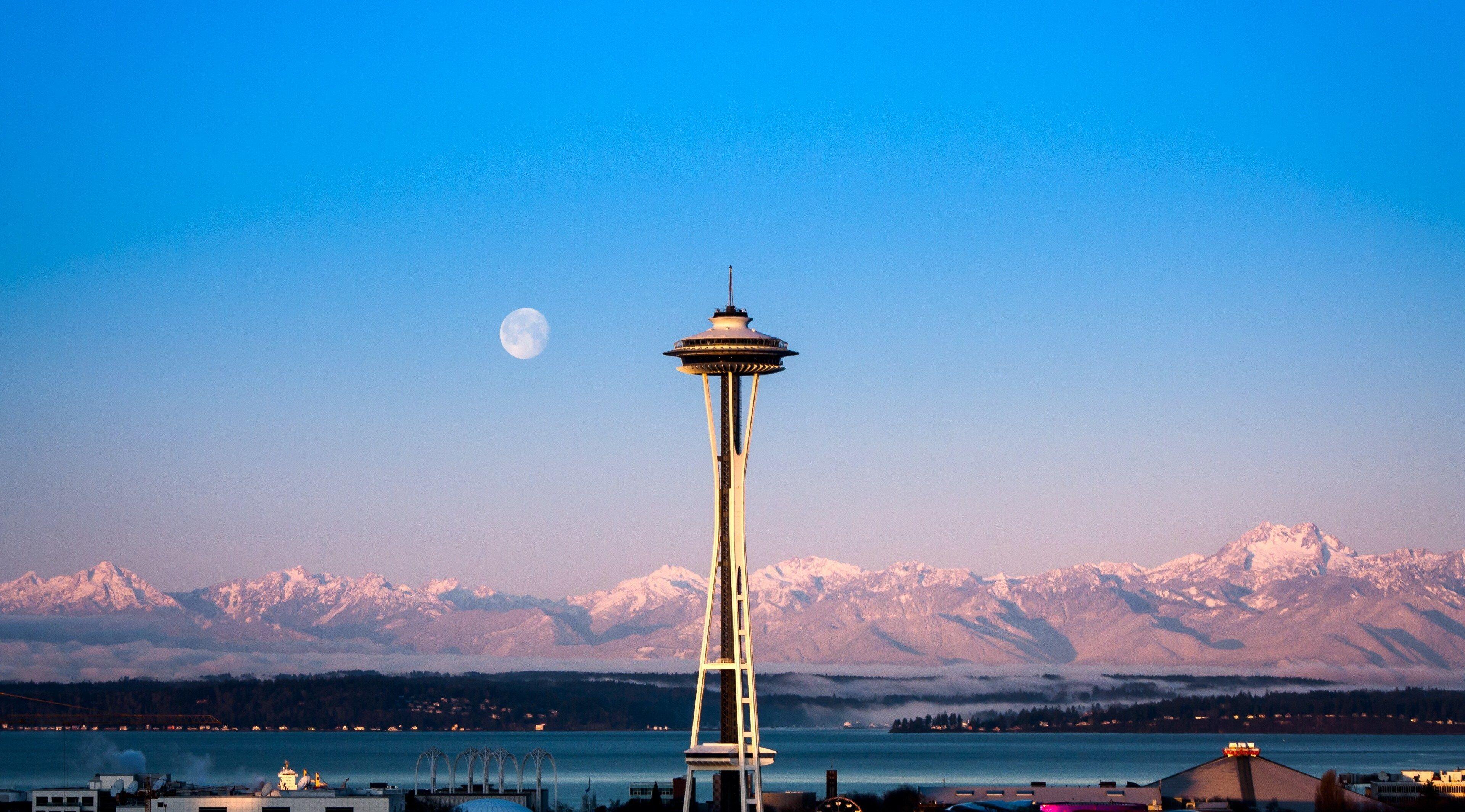 3840x2130 Seattle 4k Background Image Fondos De Pantalla Wallpaper Para Pc Imagenes En Hd