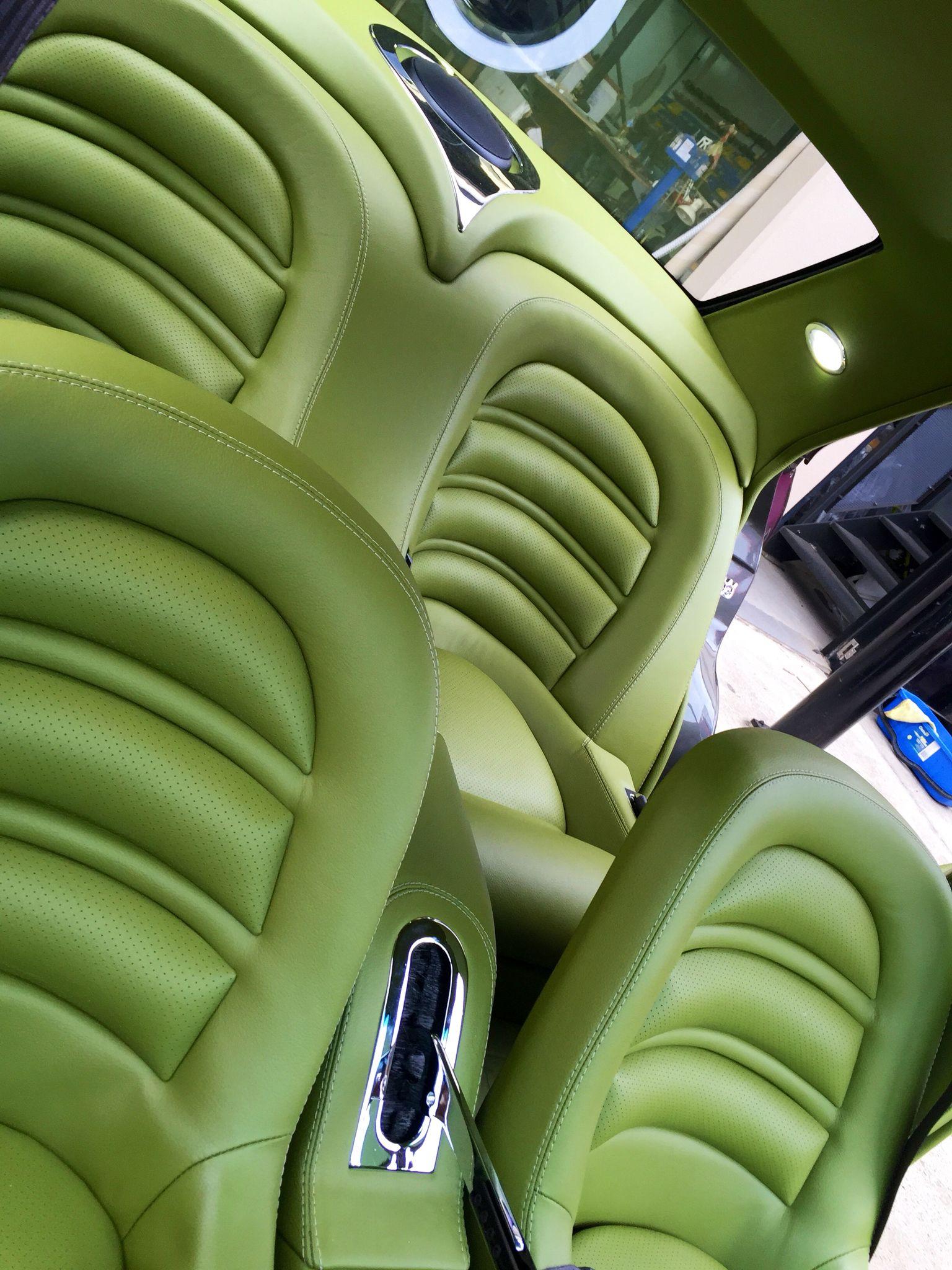 Lowrider Custom Car Interior