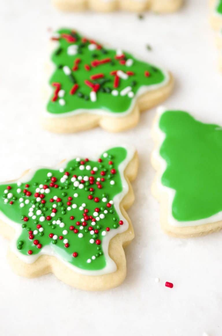 Christmas Cookie Frosting.Easy Sugar Cookie Recipe With Icing