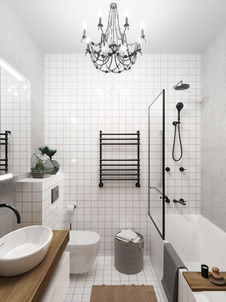 Фотография: Ванная в стиле Минимализм, Лофт, Эклектика ...