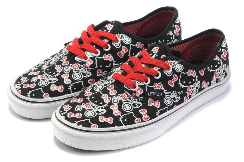 Image from http://www.hellokittyssell.com/images/hello%20kitty%20shoes/Vans%20shoes%20X%20Hello%20Kitty%20Vans%20Canvas%20shoes-black%20and%20pink%20Collage%20color.jpg.