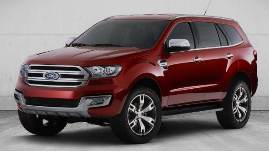 2019 Ford Everest Images New Ford Suv Ford Suv Cars Car