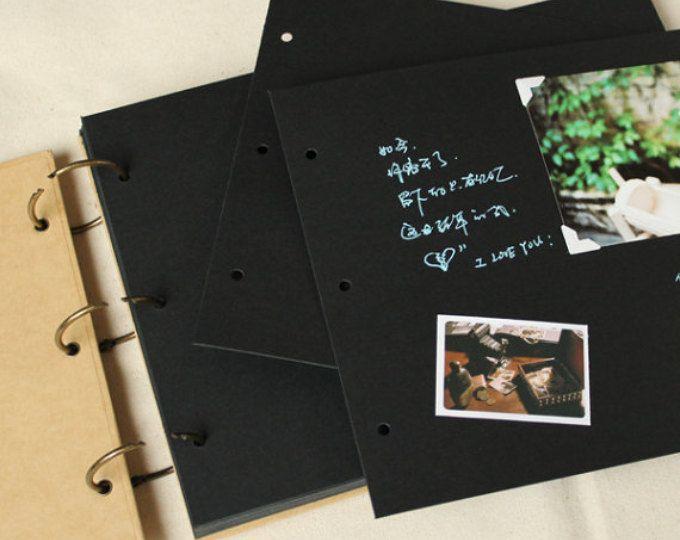 56 Paginas De Album De Fotos De Anillas A4 Tamano Boda Los