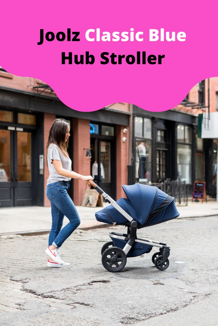 Joolz Hub Stroller with in Stunning Silver