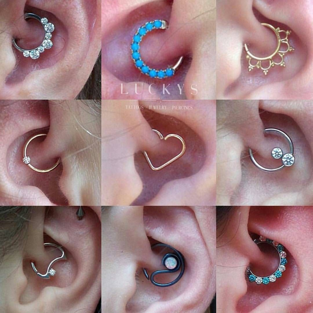 Nose piercing earrings  luckysnoho uc Daith piercings are super fun and we have tons of