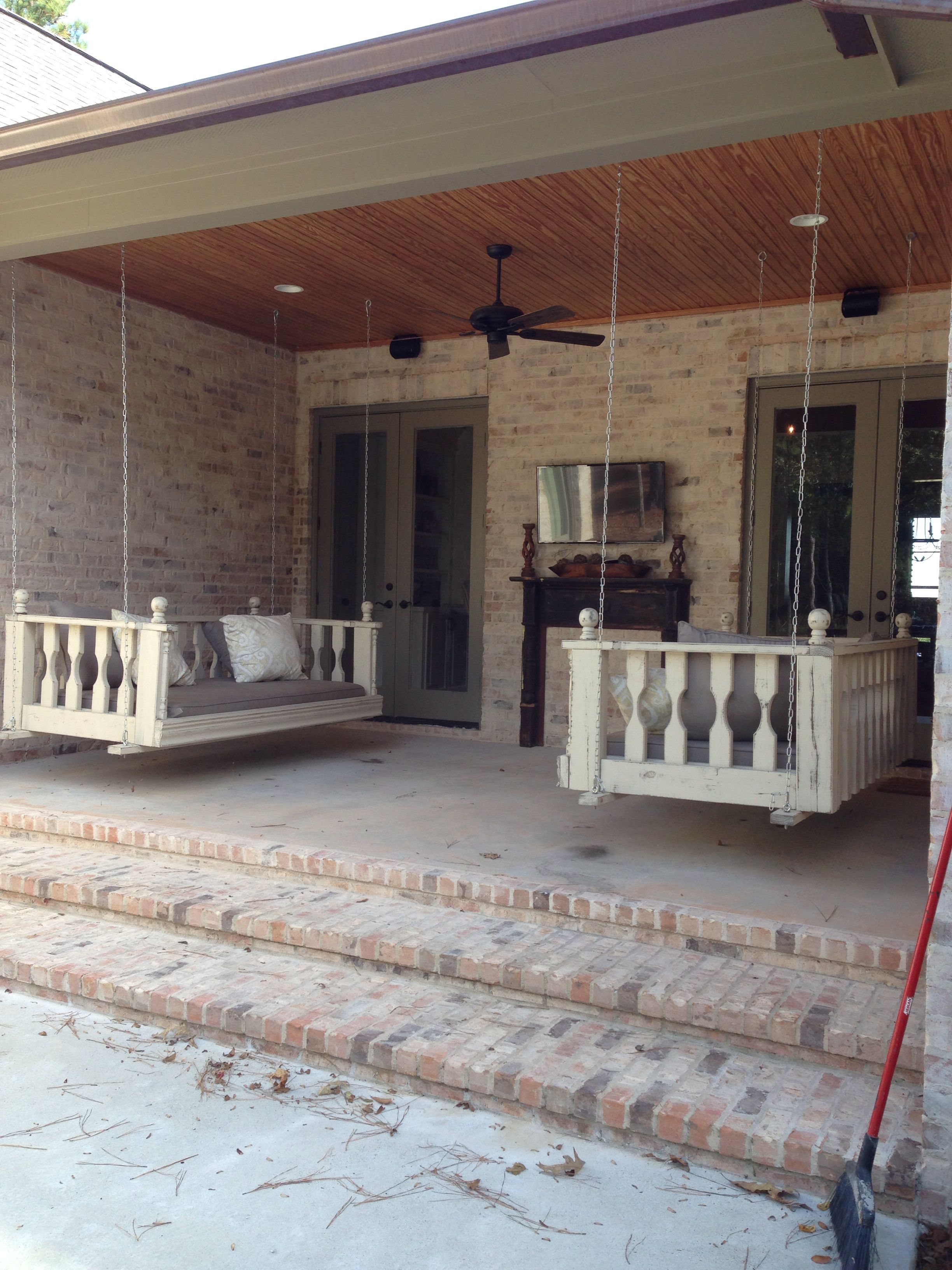 Oversized Porch Swings Dream House Plans Home Porch