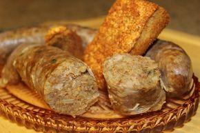 Classic Boudin (Boudoin)   RealCajunRecipes.com: la cuisine de maw-maw! #cajundishes