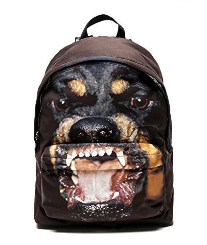 b0bbaed9509e Wiberlux Givenchy Mens Rottweiler Print Backpack One Size Brown     Want  additional info  Click on the image.