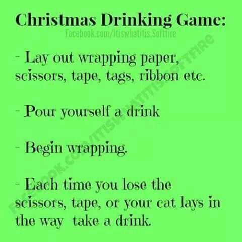 Lol!!! Love it stuff I like Pinterest Christmas drinking