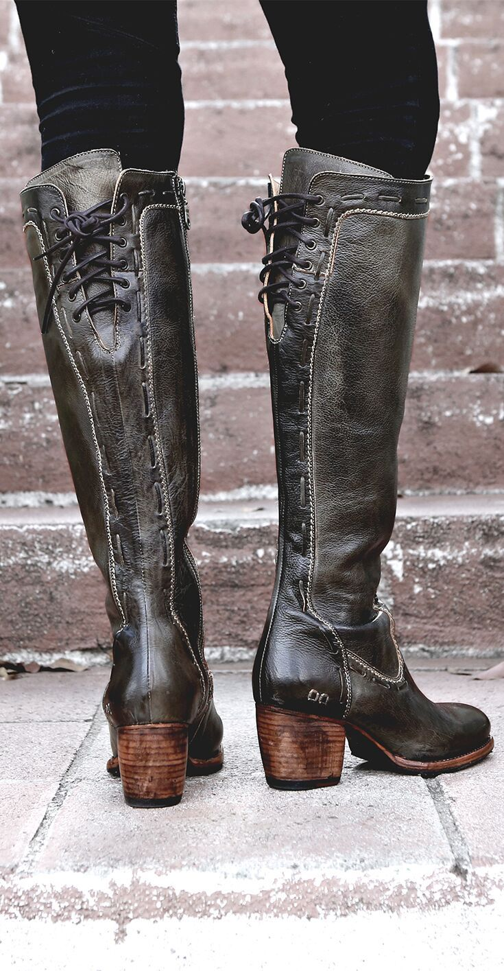 225b069e730af Fortune in 2019 | WOMEN'S - Tall Boots | Boots, Black knee length ...