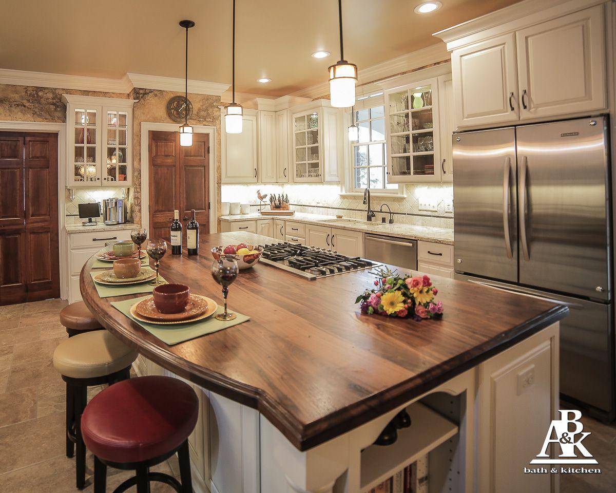 custom kitchen distressed black walnut island top kitchen island design custom kitchen on kitchen island ideas black id=40386