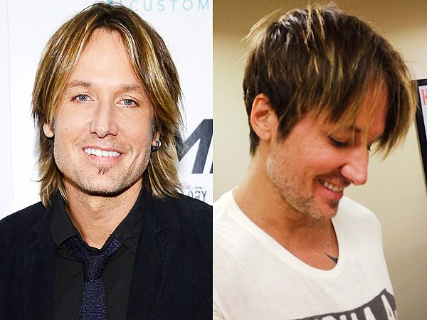 Keith Urban Cuts His Famously Shaggy Hair Into a Shorter (Still ...