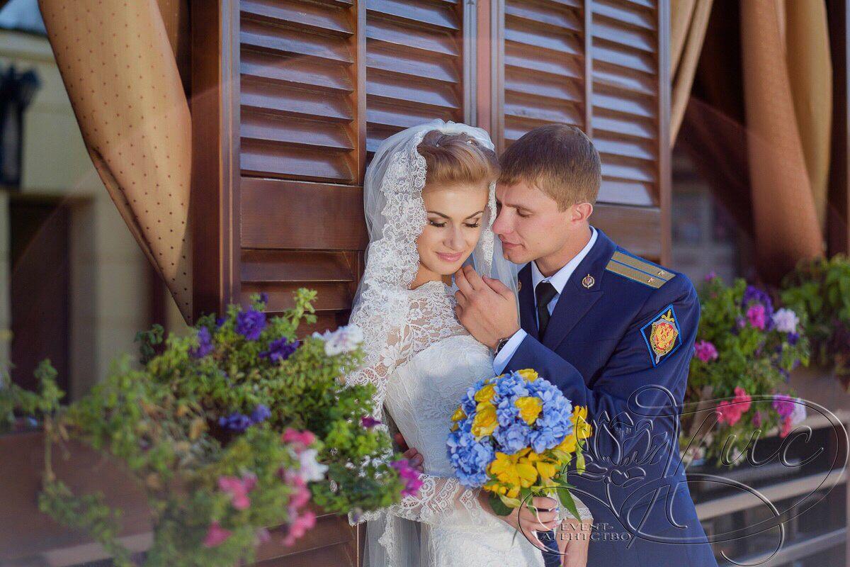 Wedding Дмитрия и Ксении. Организатор event-агентство ДИС.  Флористика и декор event-агентство ДИС.