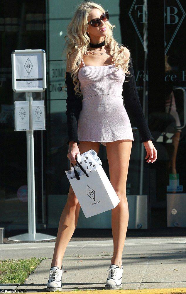 short dresses in public