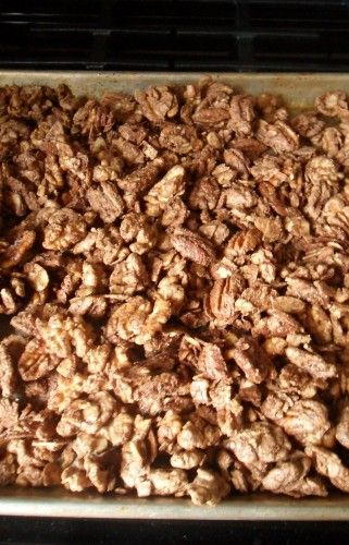 Candied Nuts Recipe + Fisher Nuts Prize Pack & $75 GC Giveaway