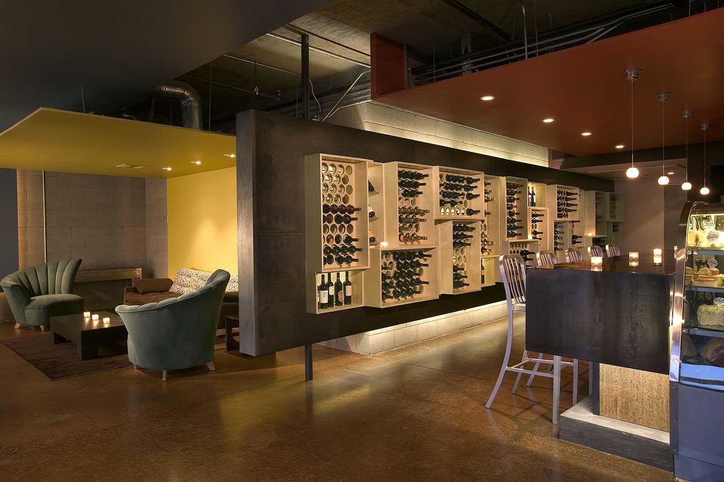 Cheuvront Wine Bar Richard Bauer Interior Design