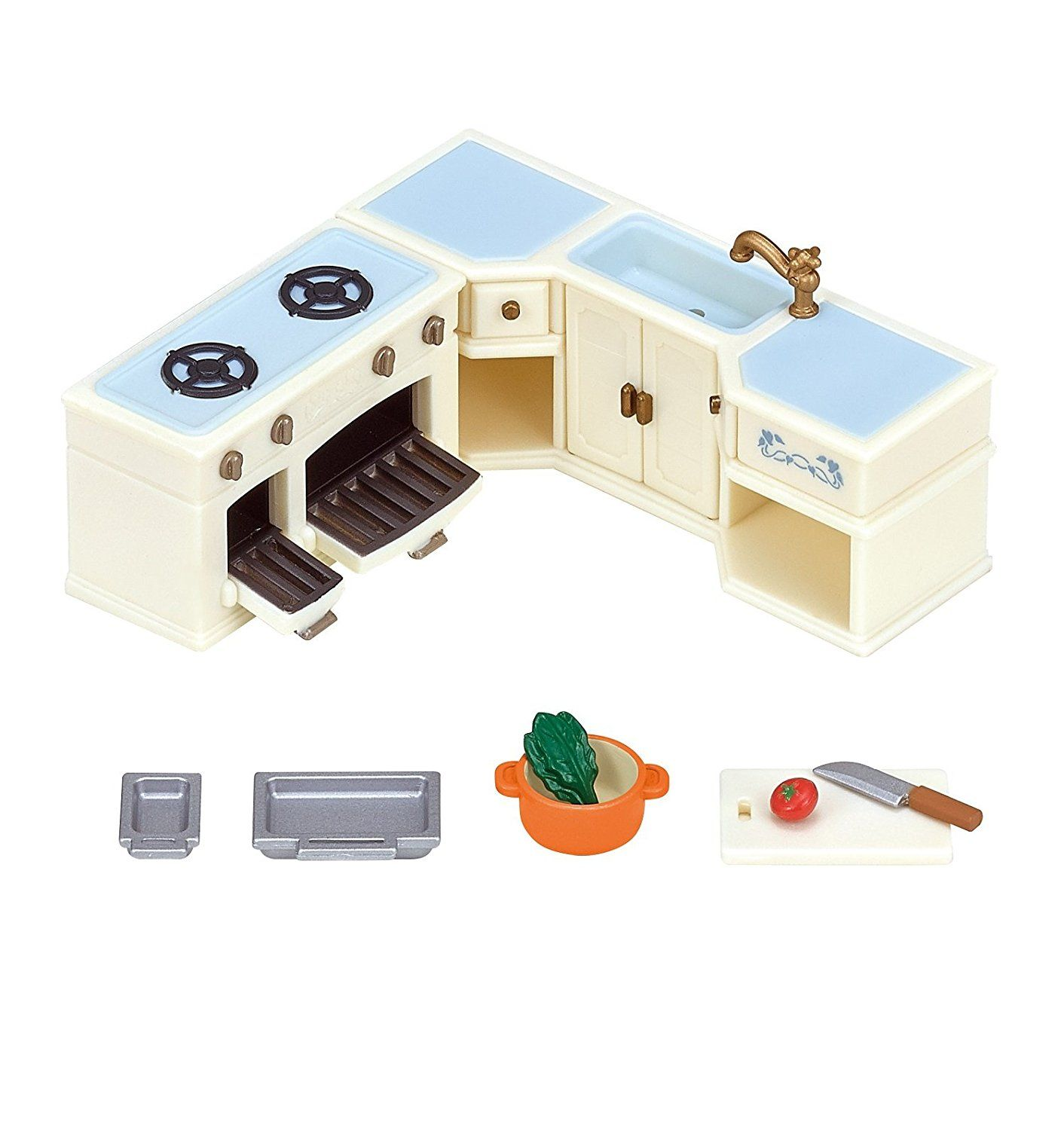 Amazon.com: Calico Critters Room set Akari no tomoru ookinaouchi ...
