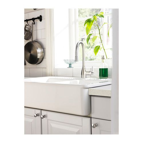 DOMSJÖ Spüle mit 2 Becken - IKEA | Fuchs | Pinterest | Küche ikea ... | {Spülbecken keramik ikea 30}