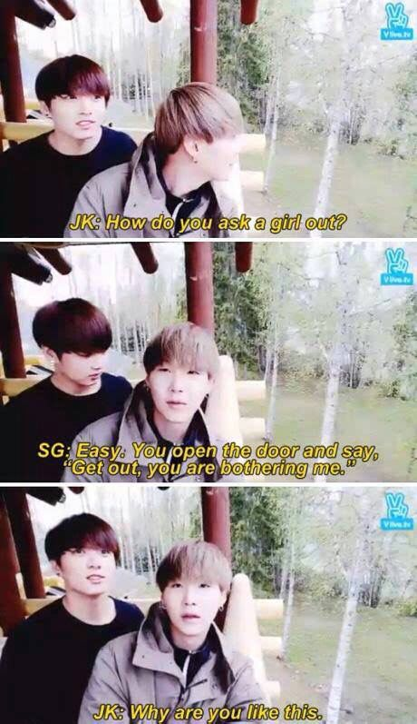 Yeah... Might work with me, but only ´cause it's you Yoongi ❤️
