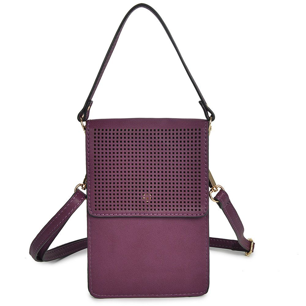 cb49f9266a Phone Pouch Cell Phone Bag Mini Crossbody Purse for Women teens Girls  Wallet for IPhone X 8 Plus Samsung S8 7 Small Purple   Check out this great  product.
