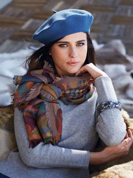 Katarina Ivanovska for the winter collection of Peter Hahn 2013 | Take a Quick Break