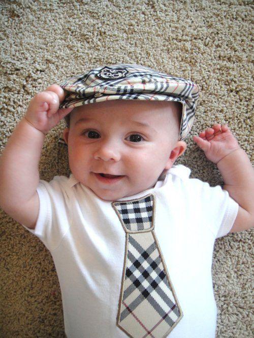 boys burberry tie