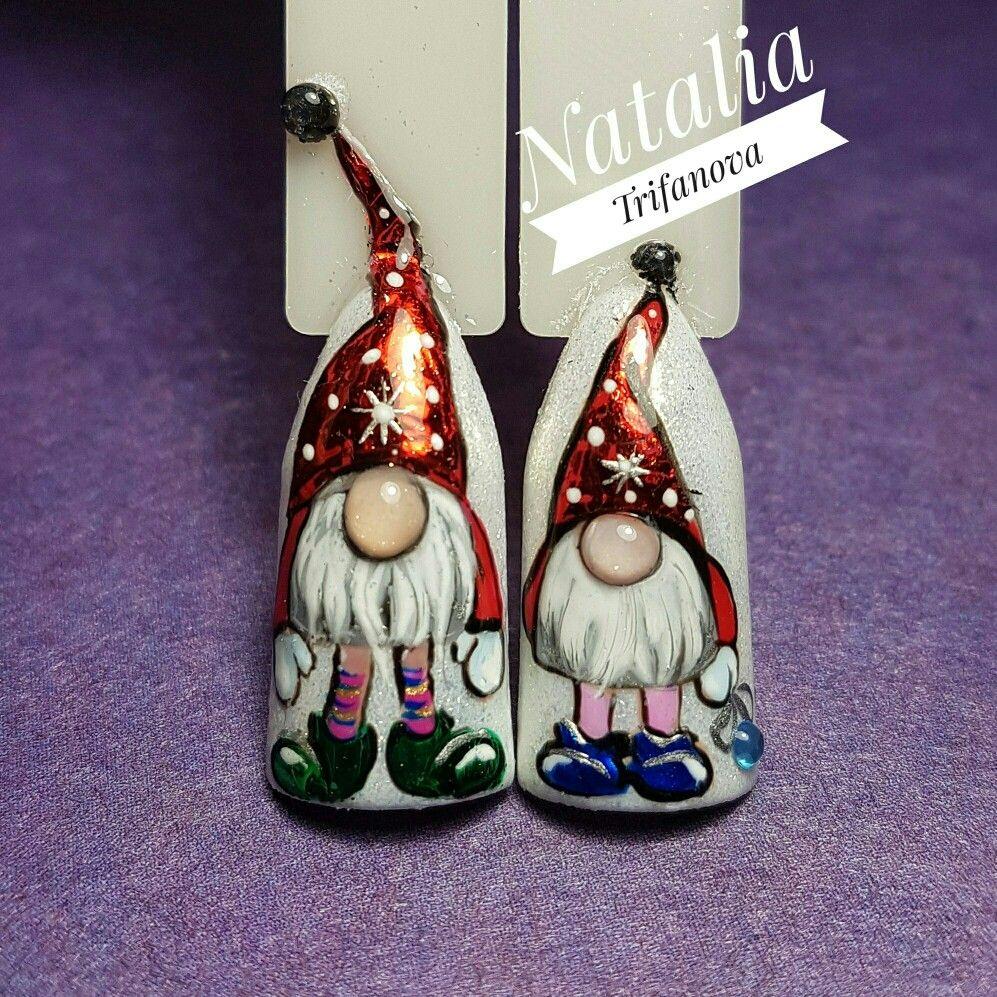 Pin von Анна Иващенко auf Рождество | Pinterest | Nageldesign ...