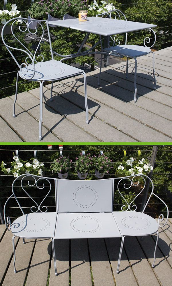 Admirable Mybalconia Bl043 Convertible Bench Balcony Bench With Pabps2019 Chair Design Images Pabps2019Com