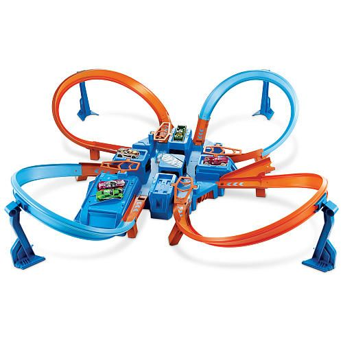 Hot Wheels Criss Cross Crash Track Set Toys R Us Hot Wheels