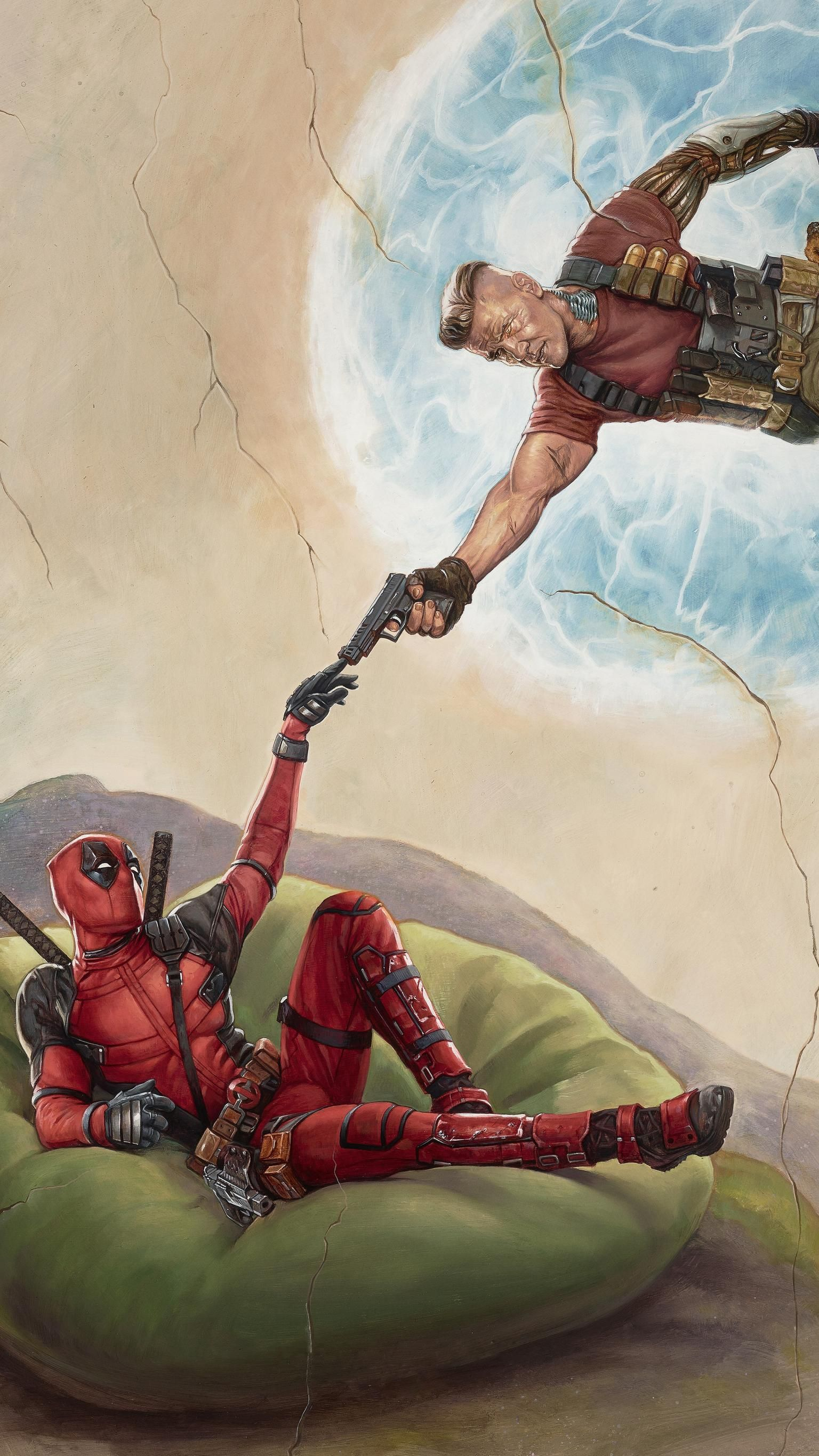 Deadpool 2 2018 Phone Wallpaper Deadpool