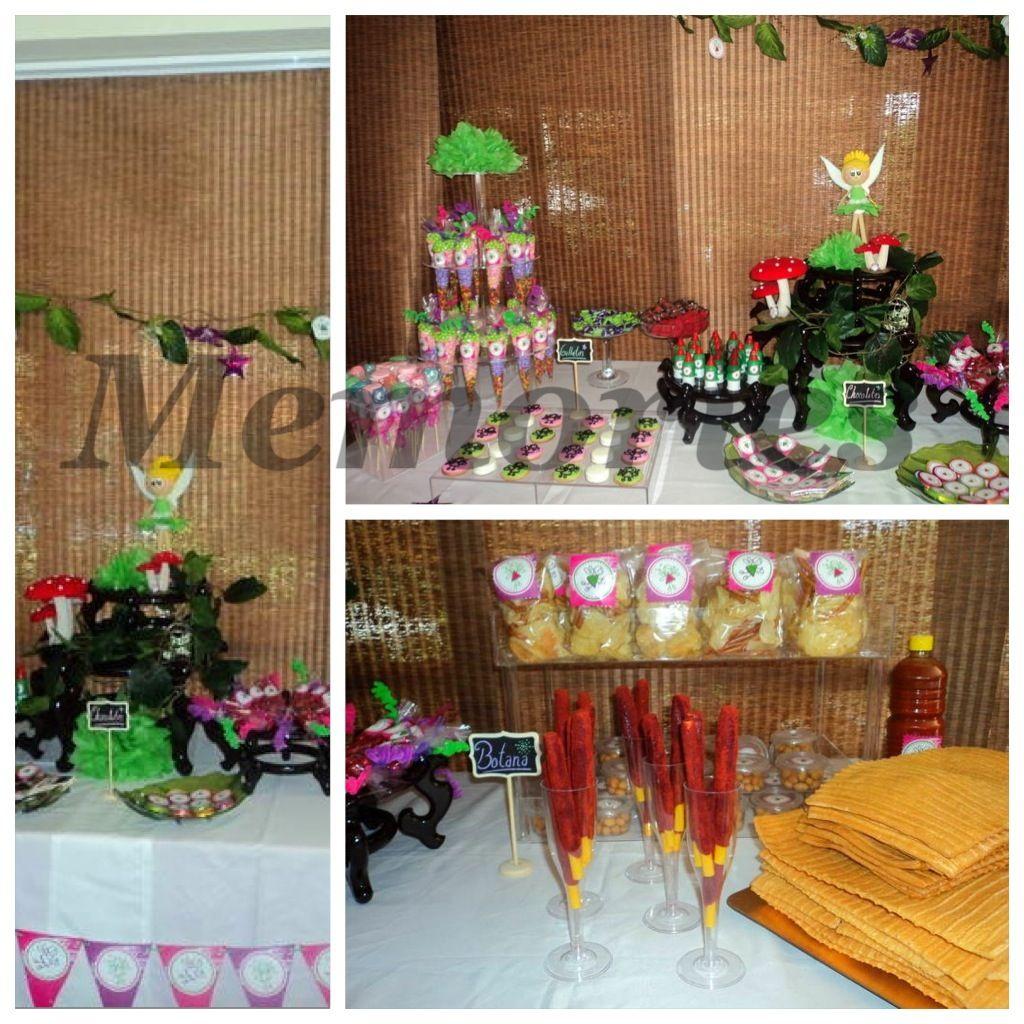 Mesa de dulces y postres tema Hadas !