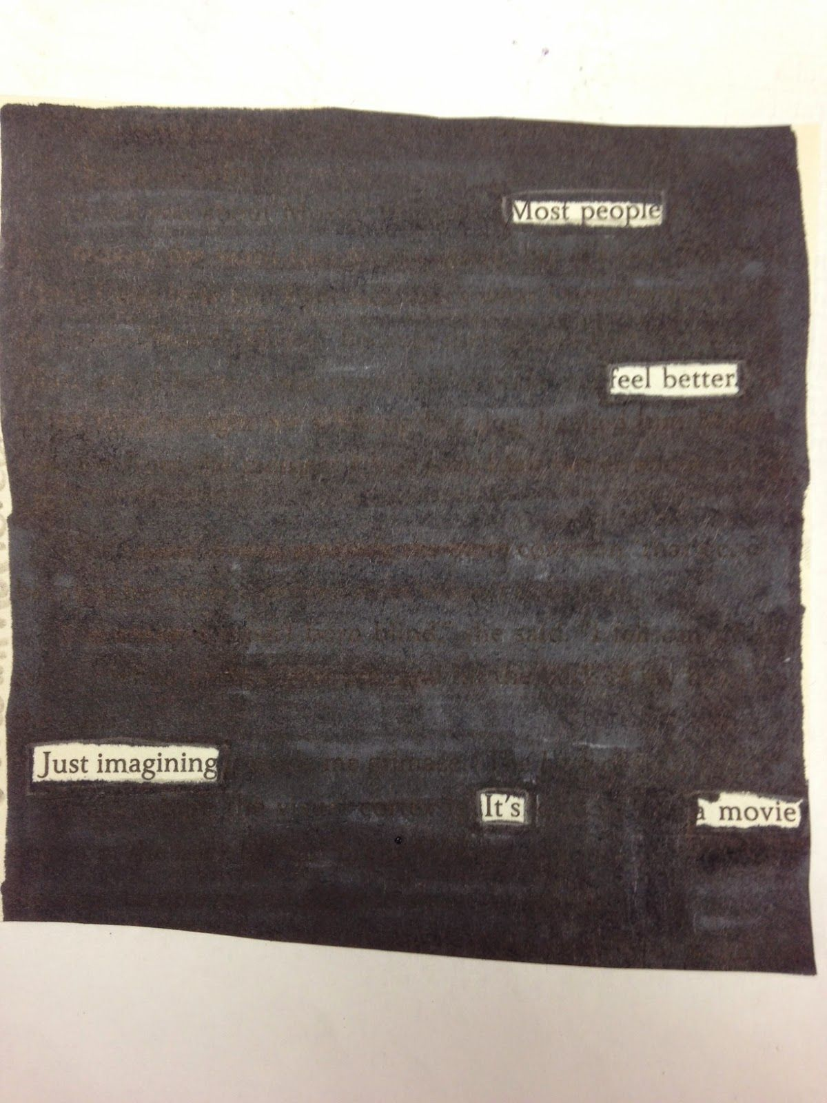 Blackout Poetry So Easy So Powerful