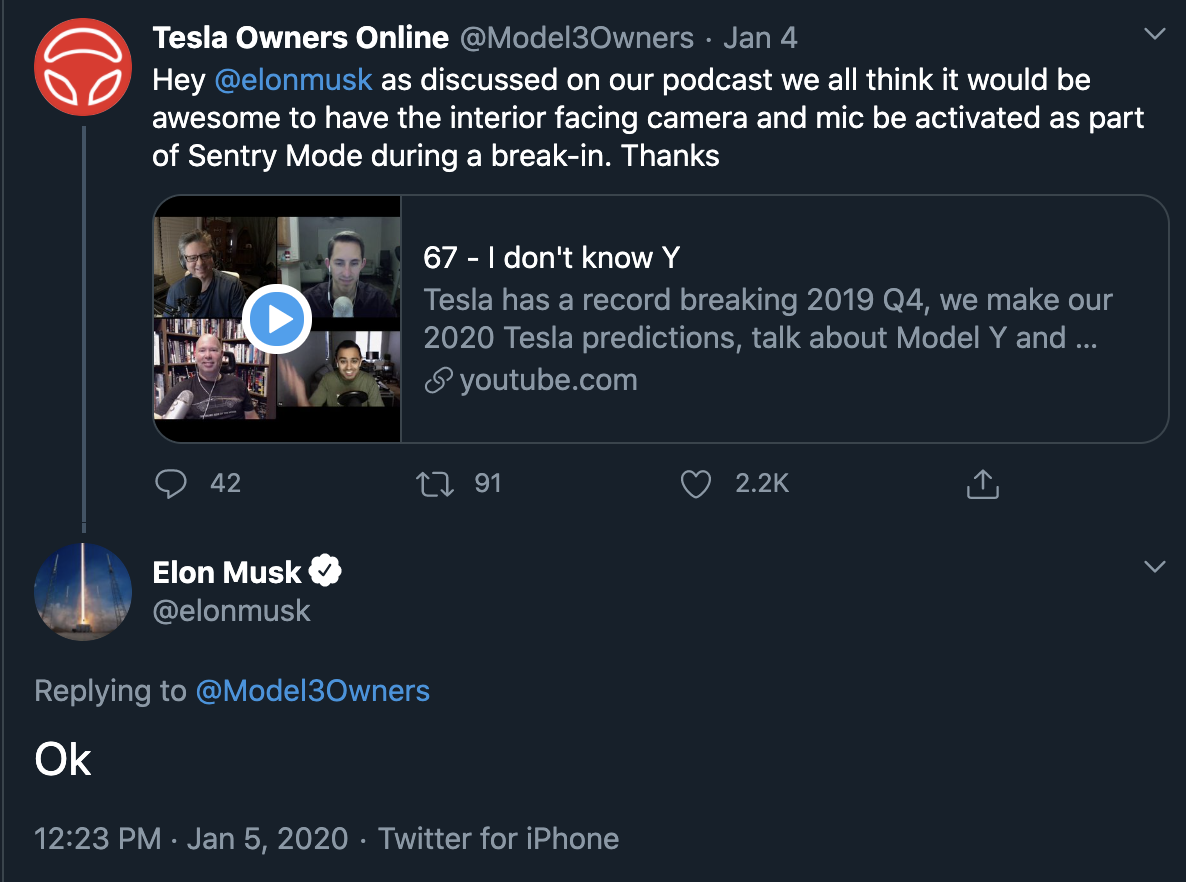Tesla S V11 Software Update And Elon Musk S Yes Tweets Tesla Software Update Tesla Owner