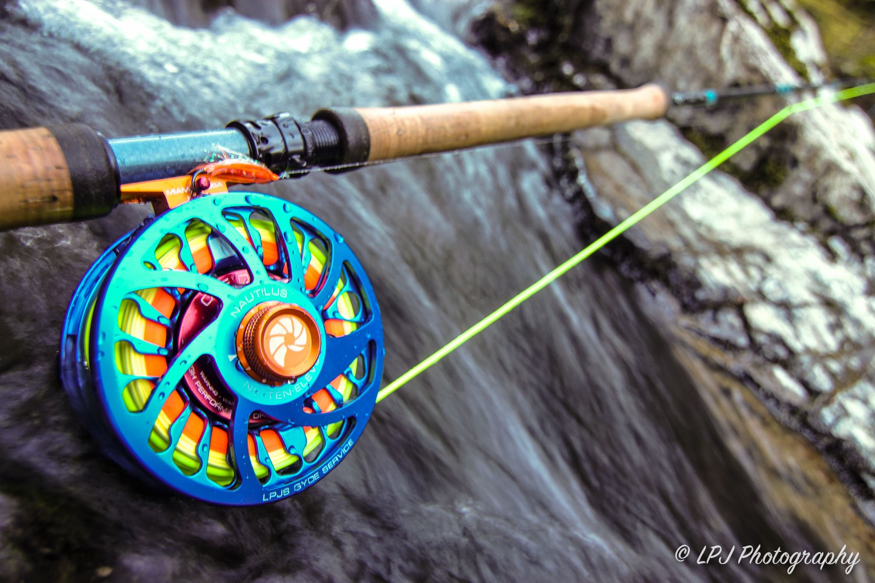 nautilus fly reel fly