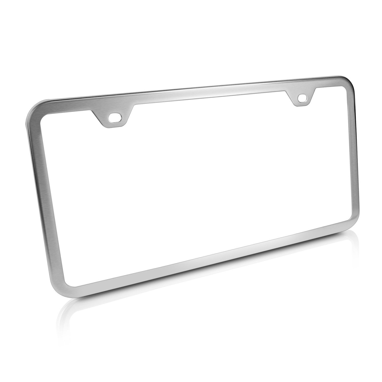 Jeep Grand Cherokee Script Chrome Brass License Plate Frame EL EL-9035815