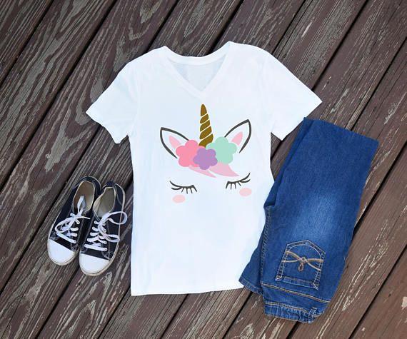 78c9e049 Unicorn Shirt, Unicorn Birthday, Pastel Unicorn, #clothing #women #tshirt @