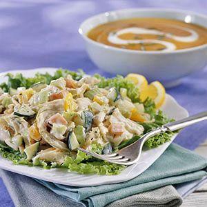 Chicken-Zucchini Salad