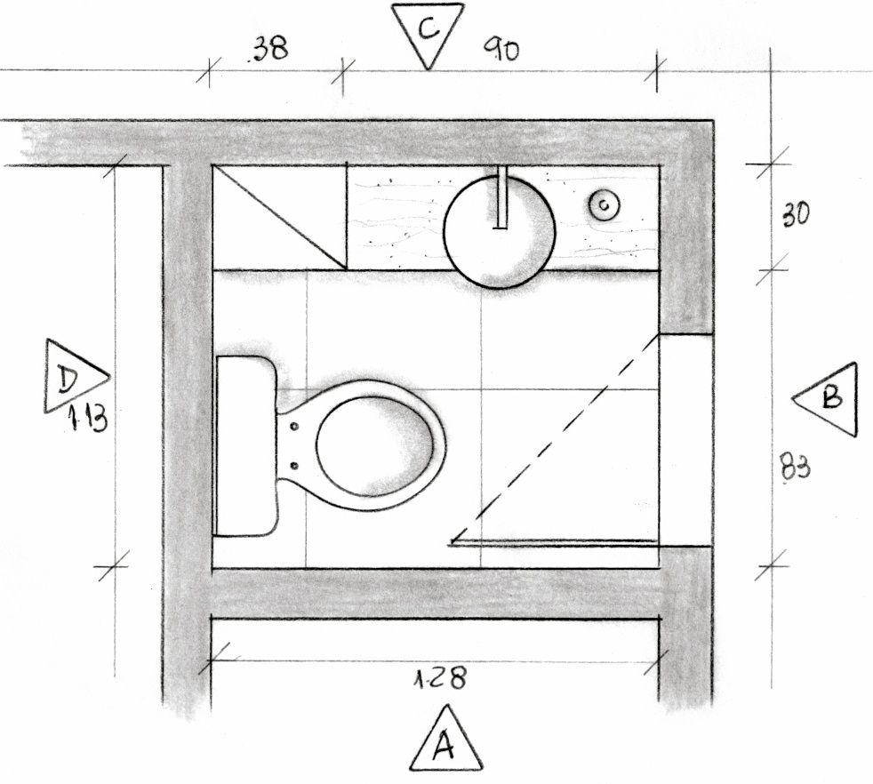 Medidas Banheiro Planta Baixa : Lavabo planta baixa projeto ana lucia nunes projetos