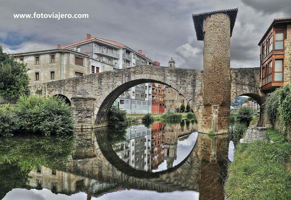 Puente de la Muza,Balmaseda, Vizcaya Puentes de piedra