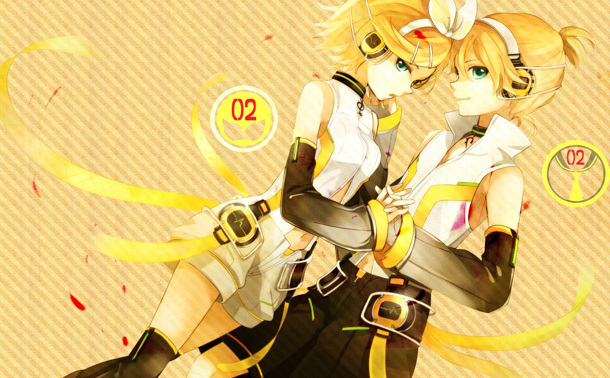 Vocaloid Wallpaper Rin wallpapers kagamine ri...