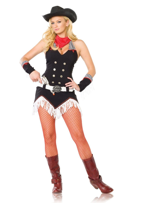 Adult Shoot Emu0027 Up Cowgirl Costume - Western - Cowboy u0026 Indian Costumes - Costumes by Theme  sc 1 st  Pinterest & Spirit Sheriff Black Dress Womens Costume | Halloween Costumes ...