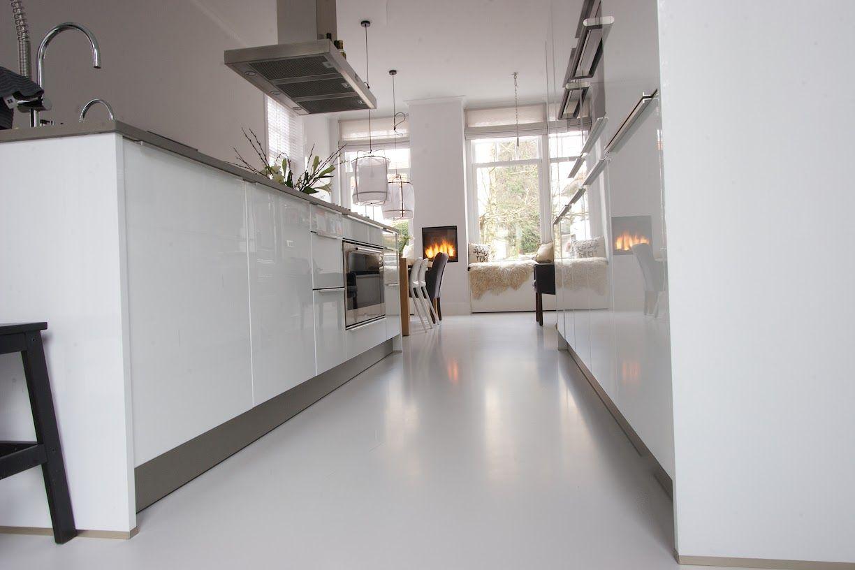 Gietvloer keuken prijzen floors kitchenware