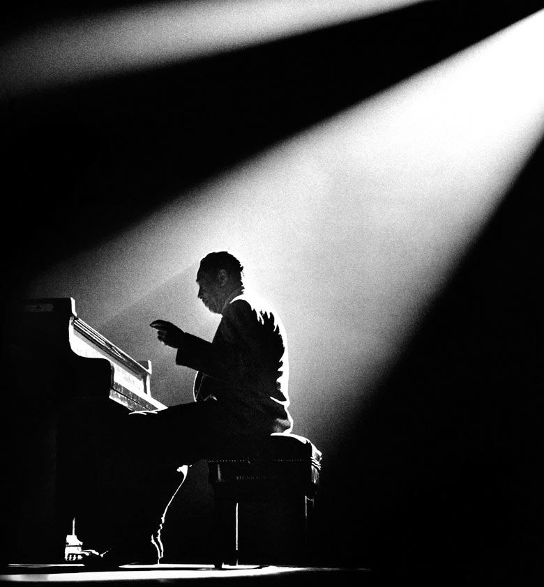 "© Herman Leonard, 1958, Duke Ellington, Olympia Theater, Paris Edward Kennedy ""Duke"" Ellington died 40 years ago today, on May 2..."
