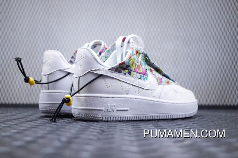 c9821bc7444 Murakami Takashi Nike Wmns Air Force 1 Jester XX Low Flower Power  AO1220-500 Unisex Skateboarding Shoes Discount