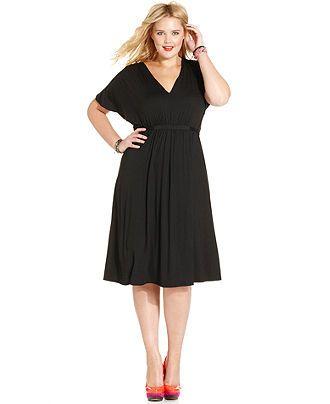 Lovin This Simple Lbd American Rag Plus Size Dress Short Sleeve